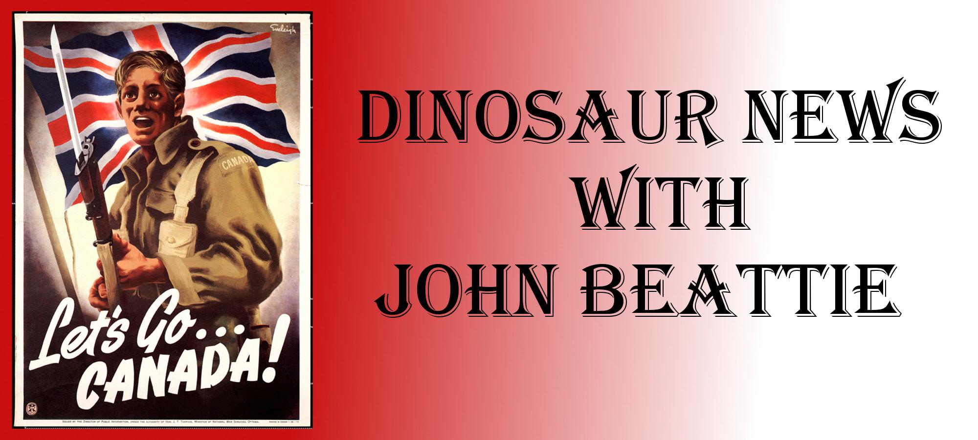 Dinosaur News with John Beattie